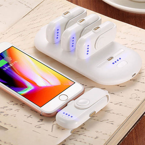 Finger-pow Magnetic Power Bank, Wireless Magnetic Portable Mobile Fast Charging Power Bank