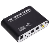 Surround Sound Decoder Optical SPDIF Coaxial Digital to Analog 6 RCA Adapter