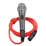 Microphone Cable Cords - XLR Male to XLR Female Color Cables