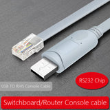 USB Console Cable USB to RJ45 Cable Essential Accesory of Cisco