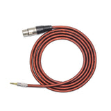 Unbalanced XLR Female to 3.5mm TRS Stereo Microphone Cable