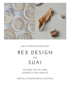 LA POP UP: Rex Design + SUAI