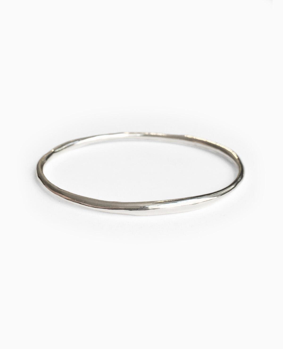 SUAI Form Bangle / Silver