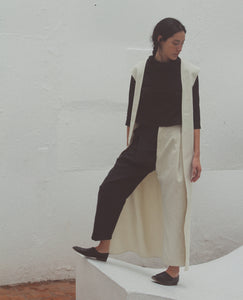 NIN STUDIO Zoot Pant / Black & White