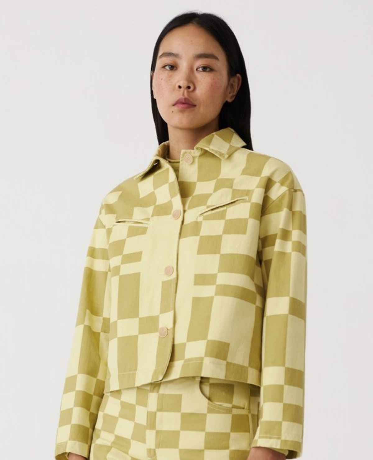 PALOMA WOOL Space Jacket / Lime Green