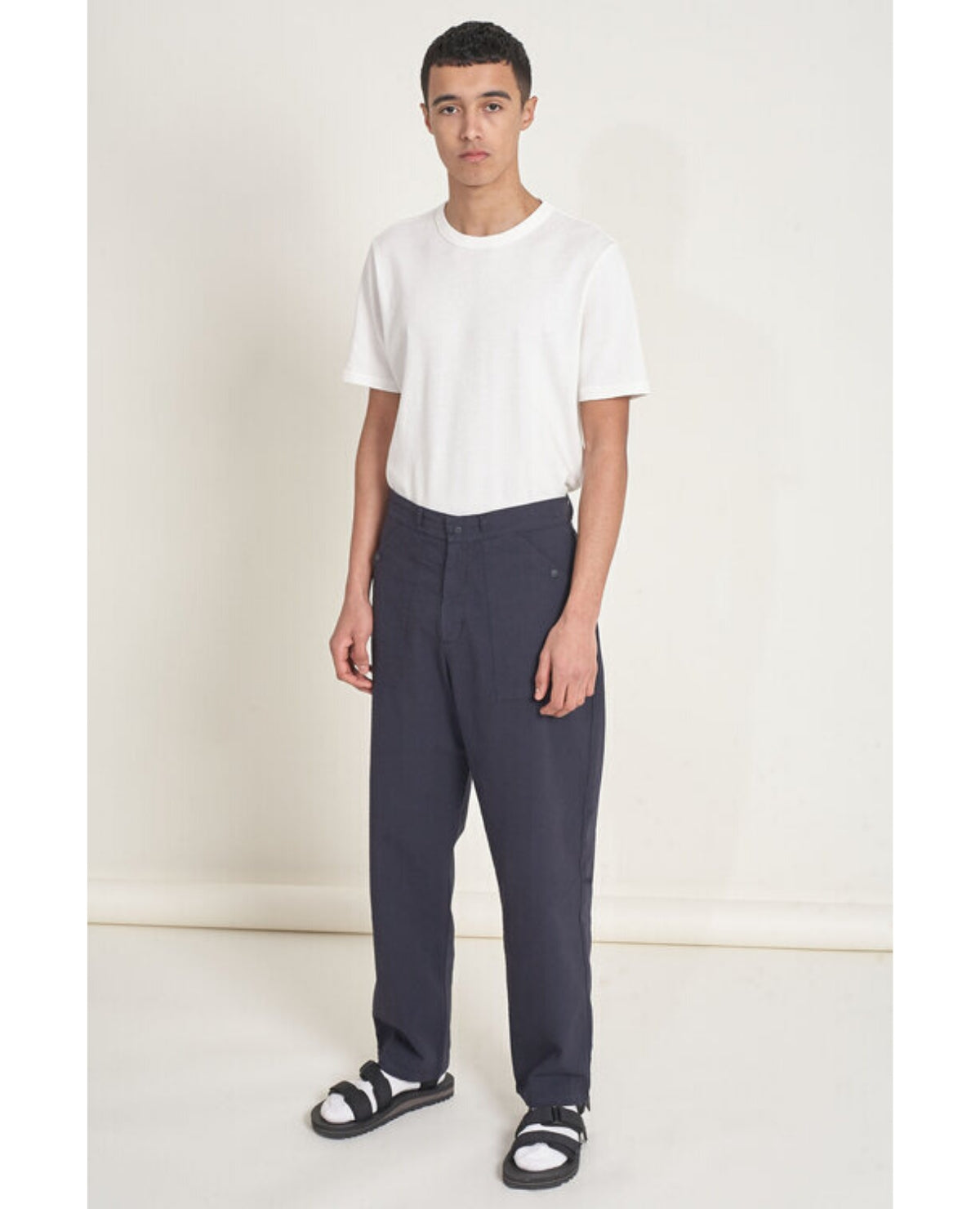 LES BASICS Le Patch Pant / Navy