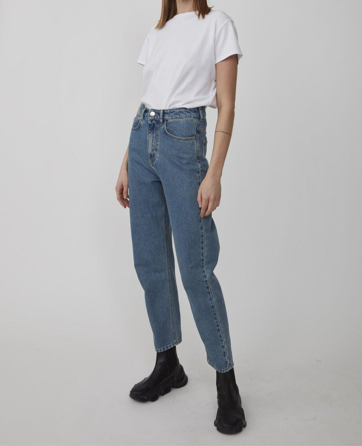 JUST FEMALE Stormy Jeans / Light Blue Denim