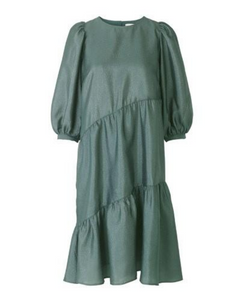 JUST FEMALE Mae Dress / Balsam Green