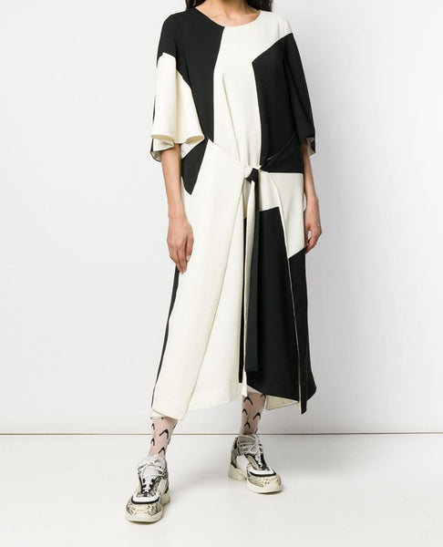HENRIK VIBSKOV Field Dress / Black and White