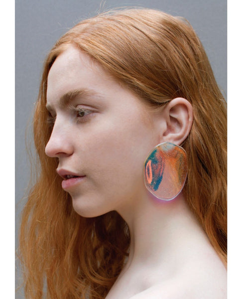 JULIE THEVENOT Reverberation Earrings / Prism Warm