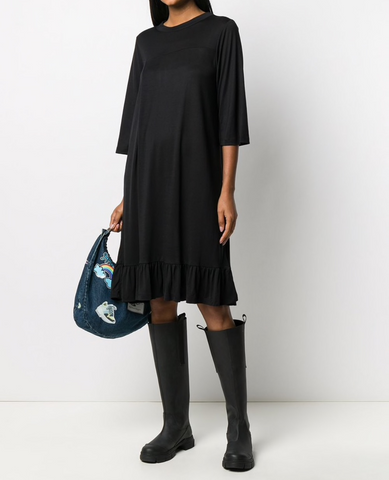 HENRIK VIBSKOV Bubble Jersey Dress / Black