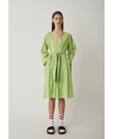 JUST FEMALE Verona Dress / Sap Green