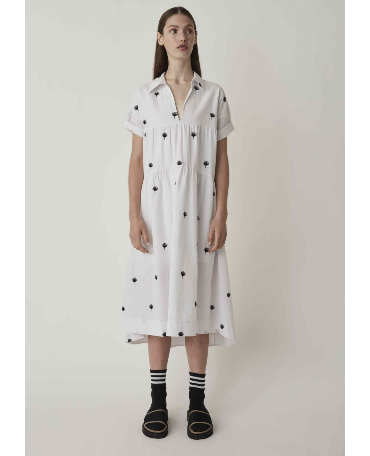 JUST FEMALE Freja Dress / Off White
