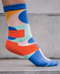 HENRIK VIBSKOV Blurry Lights Femme Socks / Multi