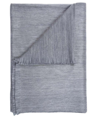 SHUPACA Throw / Pewter Sky