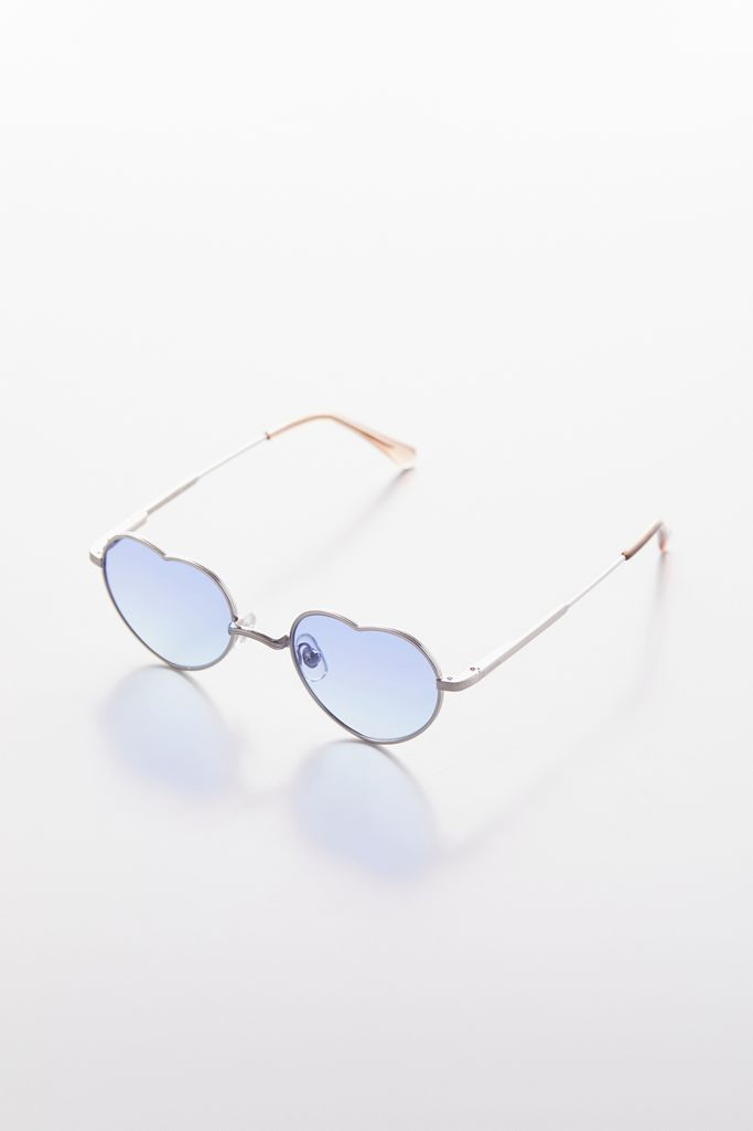 CRAP EYEWEAR The Doctor Love / Brushed Silver / Blue
