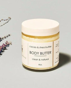 THE WELLNESS APOTHECARY Cacao & Shea Body Butter