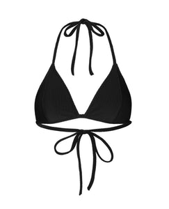 JUST FEMALE Isabella Bikini Top / Black