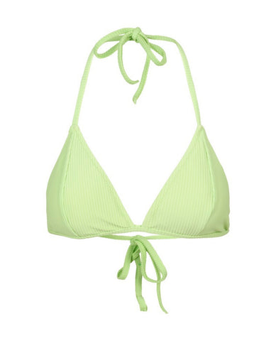 JUST FEMALE Isabella Bikini Top / Sap Green
