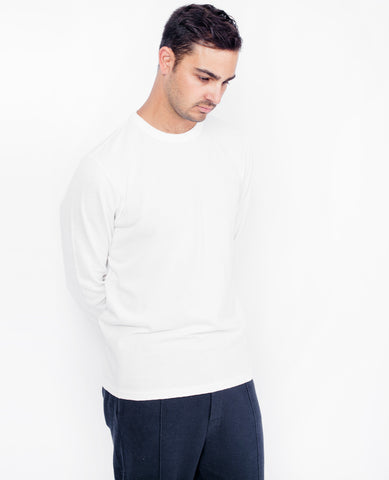 LES BASICS Long Sleeve / White