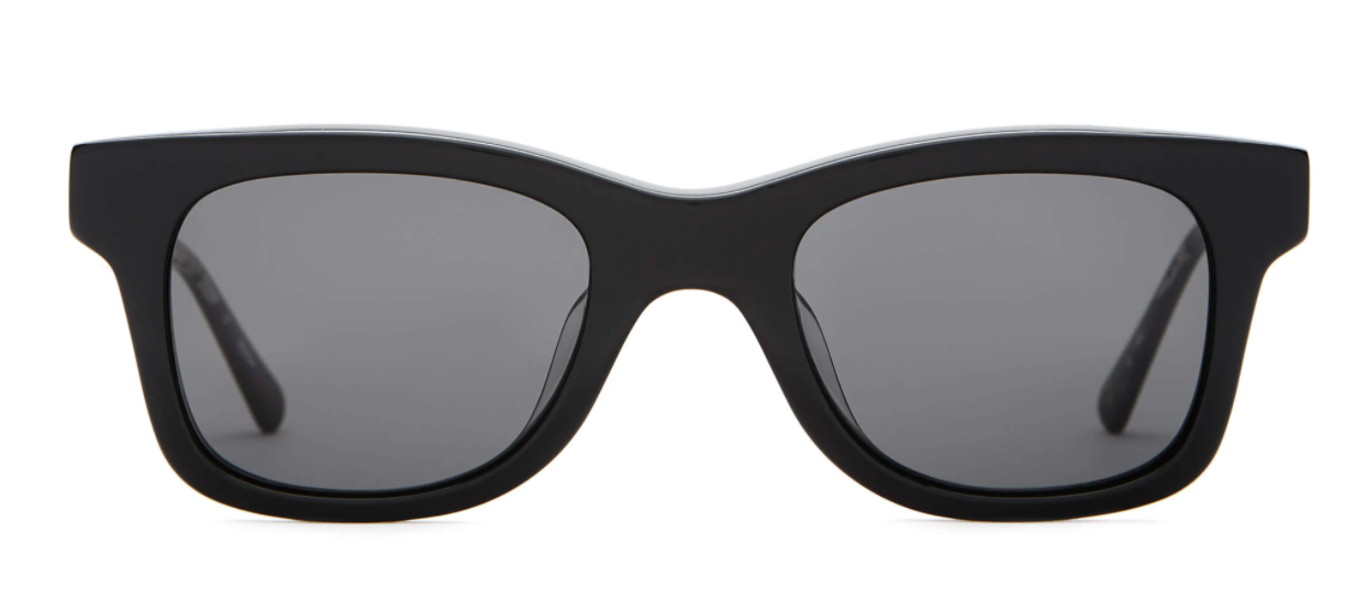 CRAP EYEWEAR The Suntan Underground / Black Polarized Grey