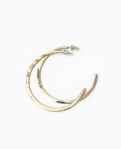 SUAI Small Hammered Hoops / Bronze