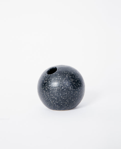Mini Sphere Vase - Black