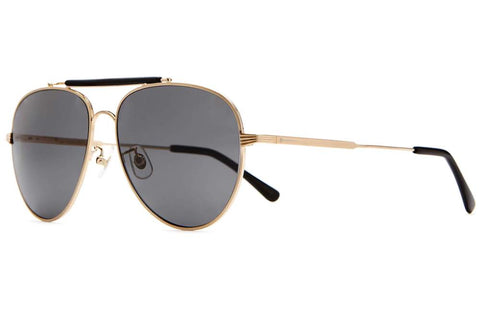 CRAP EYEWEAR The Road Crue / Brushed Gold / Black Acetate