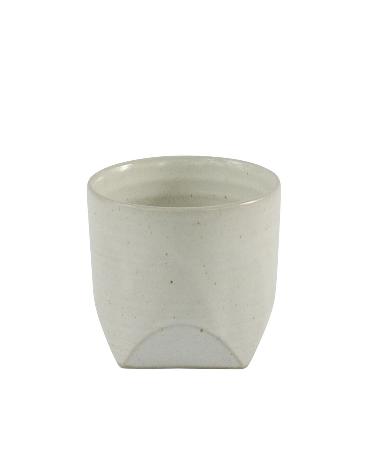 Ceramic Tumbler with Square Base