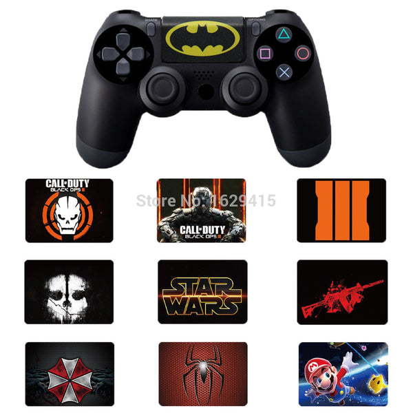 Custom 1 PCS PVC Touch Pad Vinyl Stickers Decal Cover For Sony Dualshock 4 PS4 DS4 Pro Slim Controller Touchpad Skin