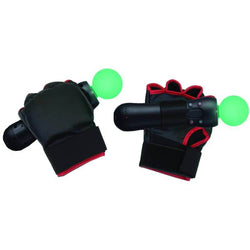 Combat Boxing Gloves PS Move Motion Controller for Sony PS3 Console Video Game
