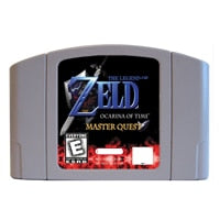 The legend of Zelda: Ocarina of Time Master Quest English Language for Nintendo 64 USA Version Video Game Cartridge