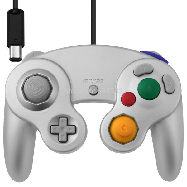 controller For GameCube Console and Wii Console For Nitendo Wired Controller with Wii GC Port