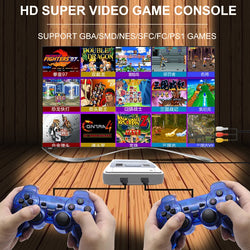 2018New 4K HDMI TV Video Game Player Support Output Built-in 1000+Games 64 bit TV Game Console for GBA/NEO/MD/FC/PS!/Sega