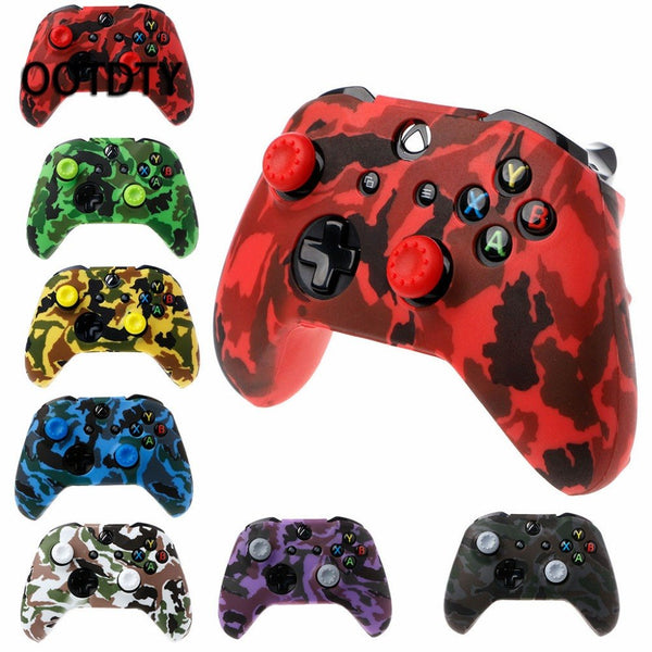 Camouflage Silicone Gamepad Cover