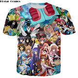 PLstar Cosmos 3D Original Pokemon T-Shirt