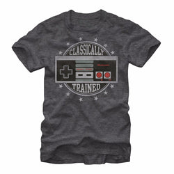 Nintendo Classically Trained NES Video Game Controller Men's T shirt