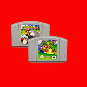 Marioed Kart/ Super MRO NTSC English 64 Game Console Cartridge