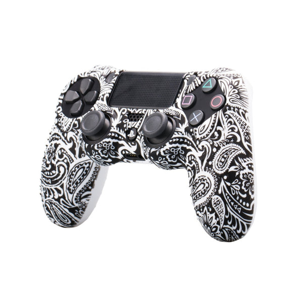 Camouflage Color Anti-Slip Silicone Cover Skin Case For Sony PlayStation Dualshock 4 PS4 Slim Pro Controller