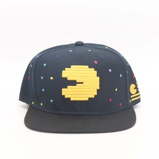 Cool Pacman Baseball Cartoon Adult Casual Sun Hip Hop Caps
