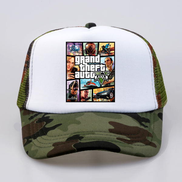 Grand Theft Auto V baseball caps