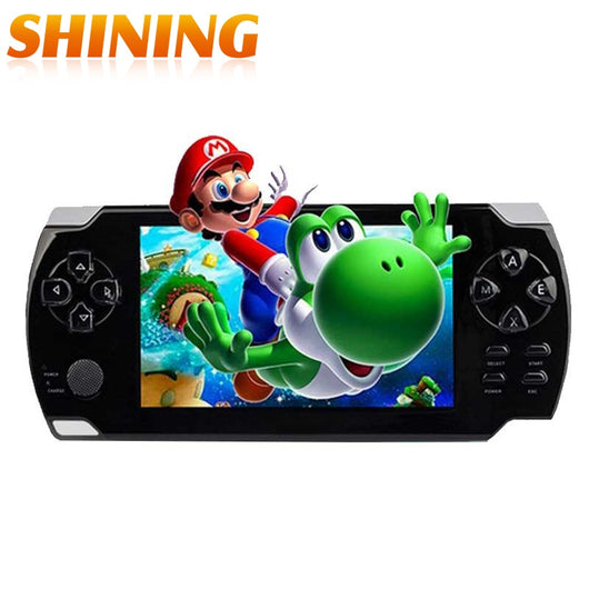 A10 4.3 Inch Screen 8GB Memory Handheld Game MP4 MP5 Player Games Console 10000 Free Games Support Ebook/TV-out/Video Camera
