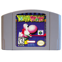 Yoshi Story English Language for Nintendo 64 USA Version Video Game Cartridge