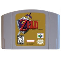The Legend Of ZELDA Ocarina of Time English Language for Nintendo 64 USA Version Video Game Cartridge