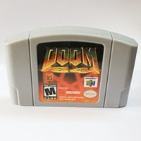 Doom  English Language for 64  USA Version Video Game Cartridge