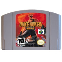 Duke Nukem 64 English Language USA Version Game Cartridge