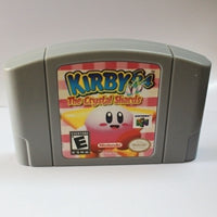 Kirby 64 The Crystal Shards English Language for Nintendo 64  USA Version  Cartridge