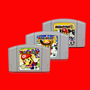Morio Party 1/2/3 NTSC English Version 64 Bit Game Console Cartridge