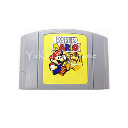 PaperMario Video Game Cartridge  for 64 Bit  English Language EUR  Version