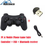 PC Android Mobile Phone Wireless Bluetooth Gamepad For SONY Playstation 3